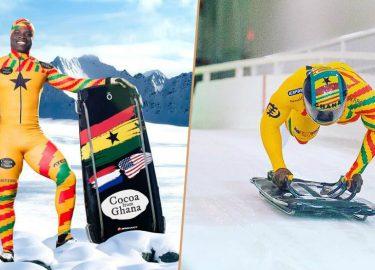 De Ghanese Amsterdammer Akwasi Frimpong gaat naar de Olympische winterspelen in Pyeongchang