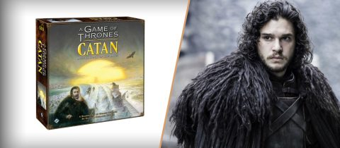 Er komt een Game of Thrones versie van Kolonisten van Catan, genaamd: Game of Thrones Catan: Broederschap van de Wachters