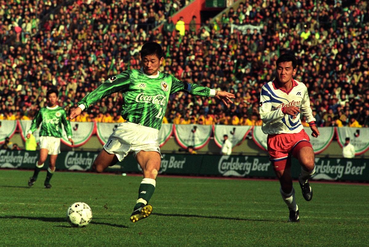 De oudste profvoetballer ooit: Kazuyoshi Miura