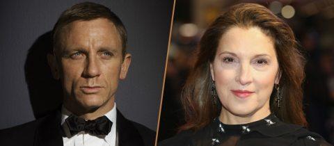 Daniel Craig als 007 en daarnaast James Bond producer Barbara Broccoli