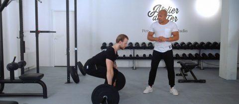 Beginners workout fitness