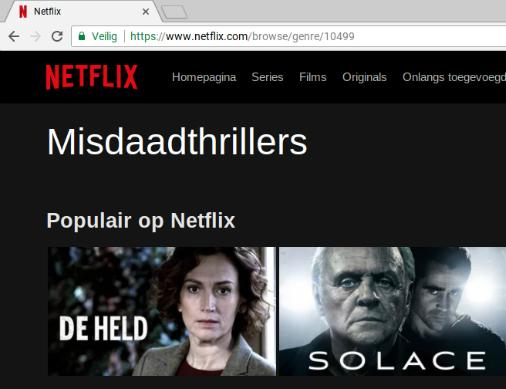 Hack om geheime categorieën te vinden op Netflix