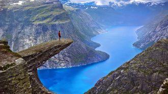 noorwegen, hiken, wandelen, fjorden, natuur
