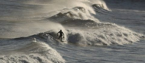 storm, op komst, nederland, surfen, norodzee, scheveningen, noordwijk