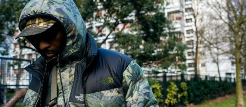 the north face, classics, tropical camo, print, urban