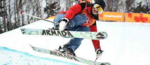 Elizabeth Swaney slechtste skiester op de Olympische Spelen halfpipe
