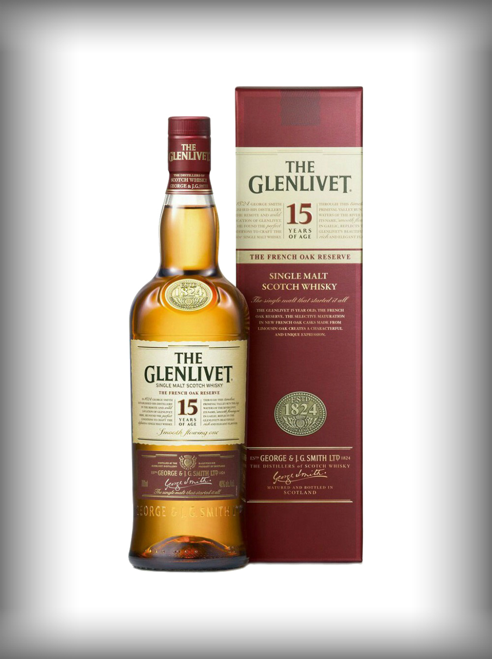 lekkere betaalbare whiksy The Glenlivet 15 Year French Oak
