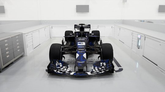 RB14 nieuwe Formule 1 auto Max Verstappen Aston Martin Red Bull Racing