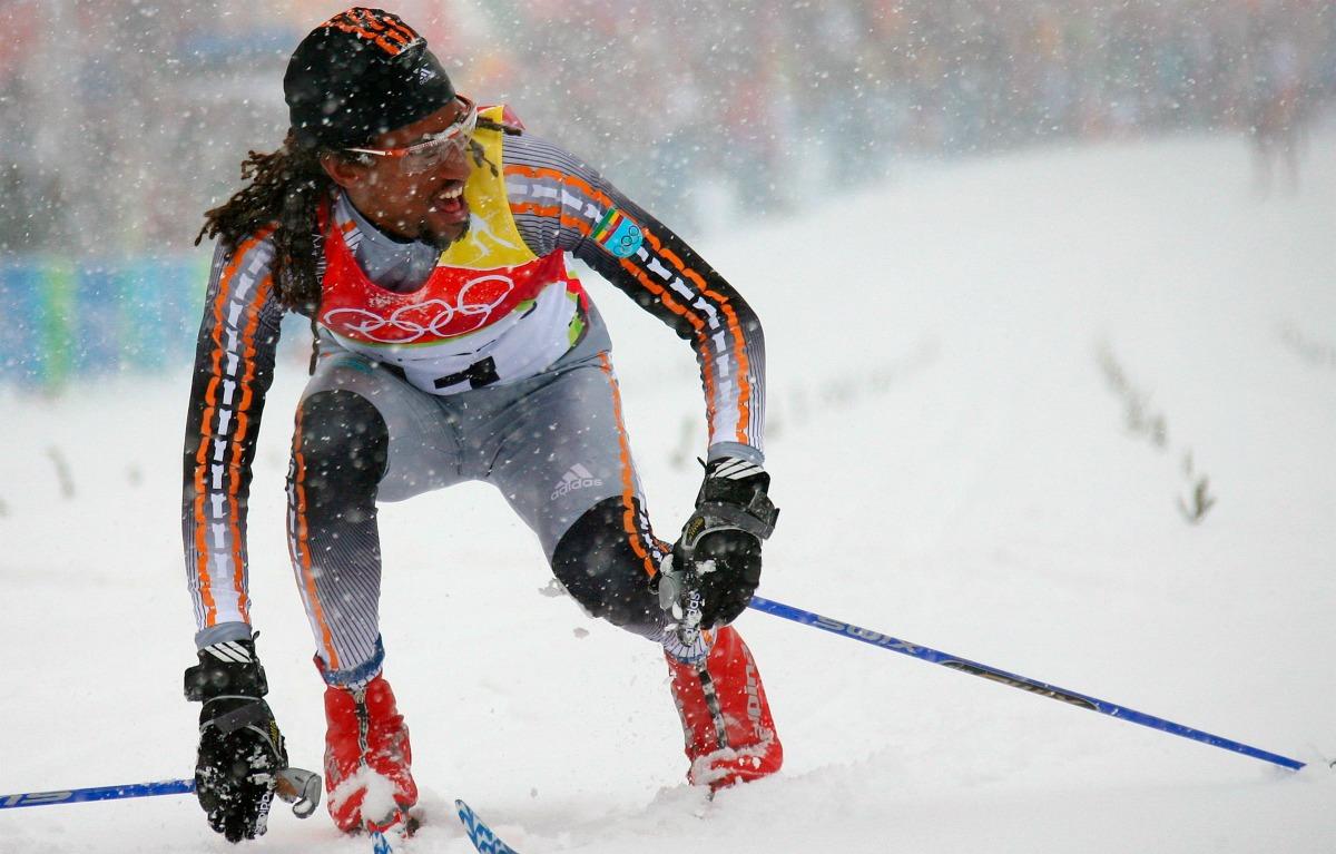 Robel Teklemariam, olympische spelen, winterspelen, Robel Teklemariam, nigeria, bobsleeteam, afrika, afrikaanse landen
