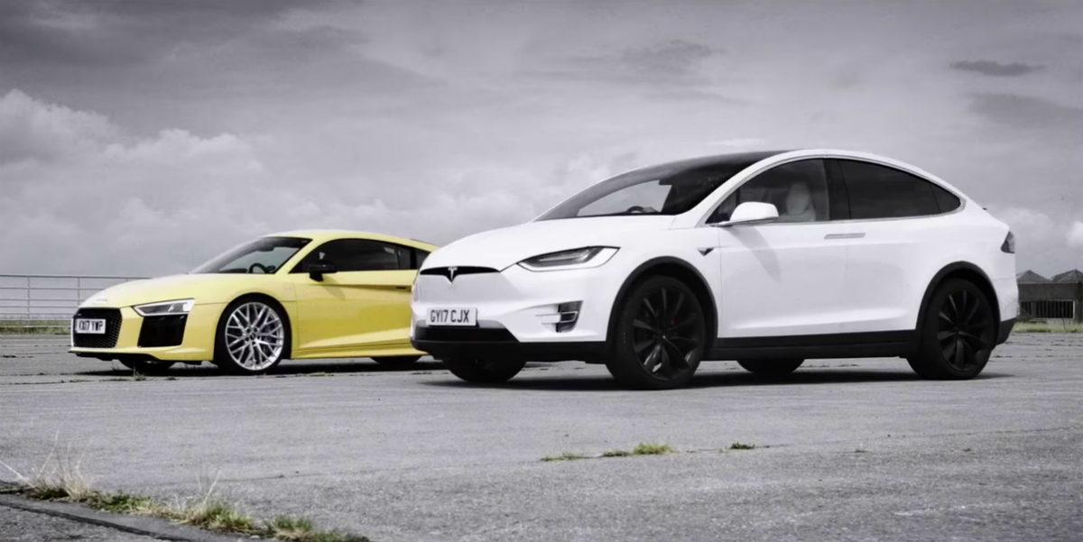 Jeremy Clarkson test Tesla Model X