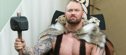Hafþór Björnsson The Mountain uit Game of Thrones heeft zijn deadlift record verbroken