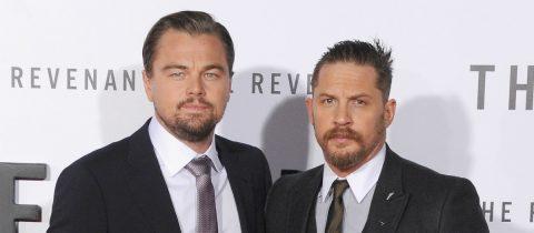 Tom Hardy verloor een weddenschap van Leonardo DiCaprio en moest een tattoo nemen