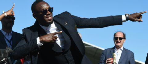 Usain Bolt voetbal tegenvaller