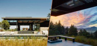 Droomhuis villa Californië natuur