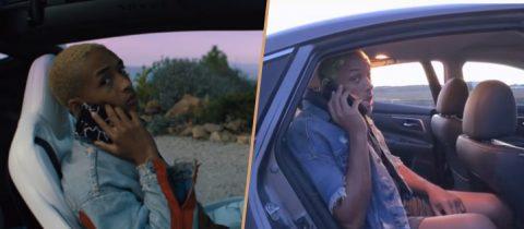 Will Smith zet zijn zoon Jayden Smith voor schut