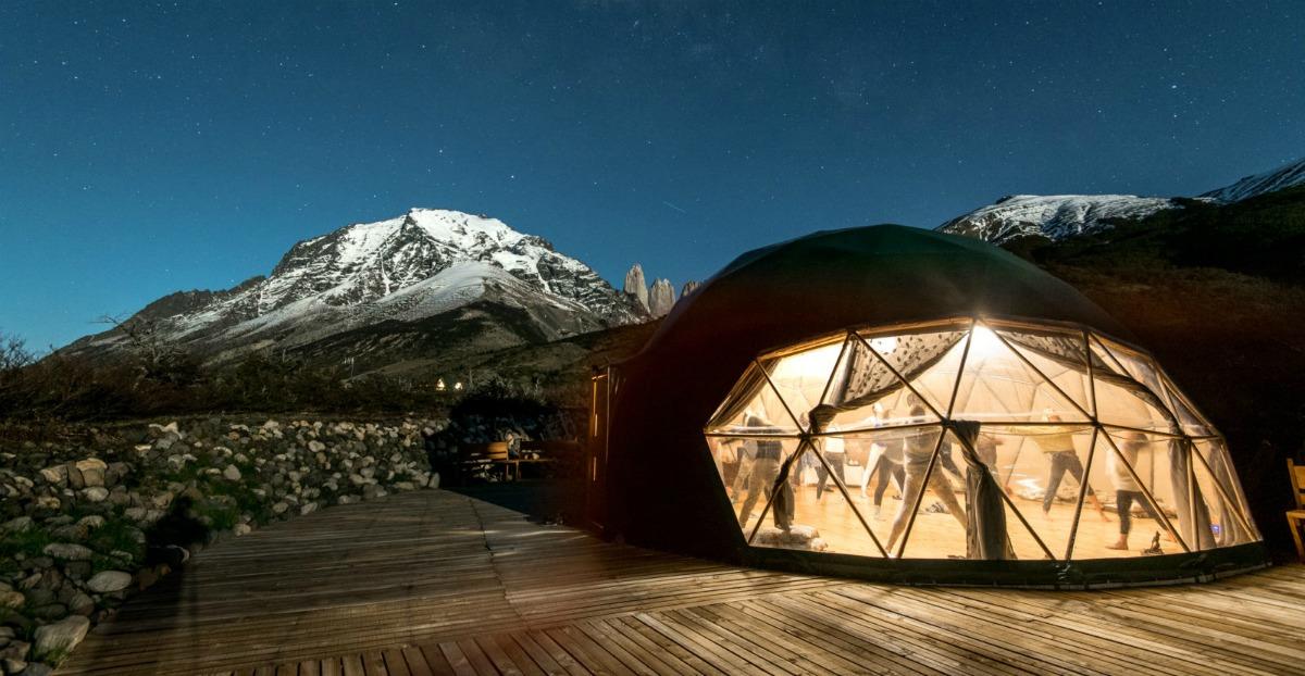 ecocamp, patagonia, chili, natuur