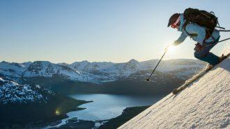 wintersport, noorwegen, bakermat, skiën, gebieden