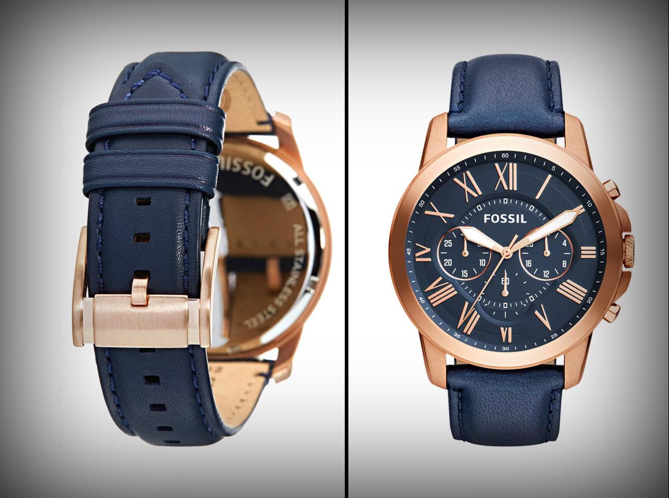 betaalbare, luxe horloges fossil