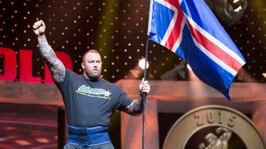 The Mountain wint Arnold Strongest Men