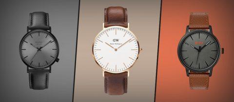 Horloges, betaalbaar luxe Daniel Wellington Hugo Boss