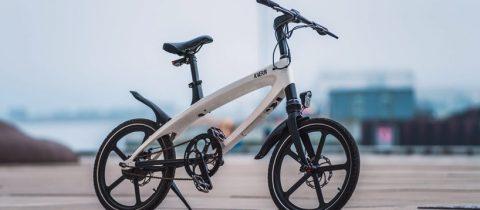 De moar folding electric bike een elektrische vouwfiets for Minimalistische fiets