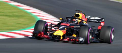 Max Verstappen Red Bull Racing RB14