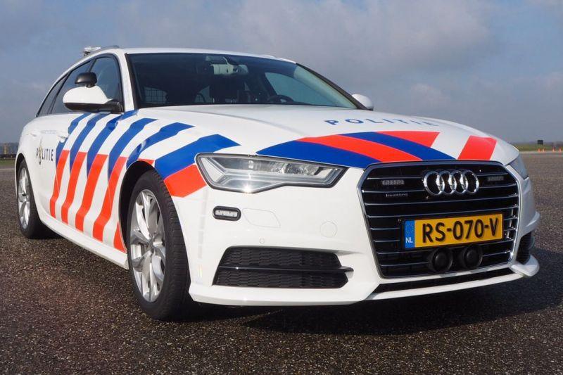 Het nieuwe interventievoertuig van de politie is een Audi A6 Avant geworden