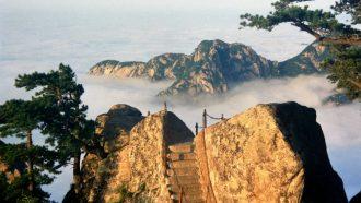Hua Shan, China, hike, hiking trail