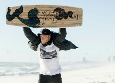 ruben lenten, oceana, kiteboard, ecoboard, lieuwe boards, len10