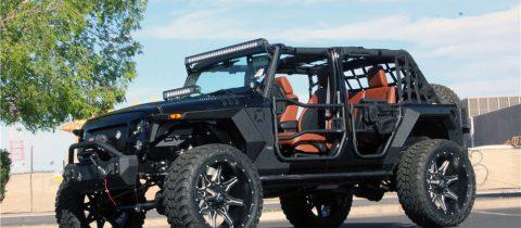 Jeep Wrangler Terminator 2018 Custom