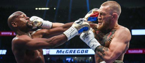 Conor McGregor Floyd Mayweather MMA gevecht