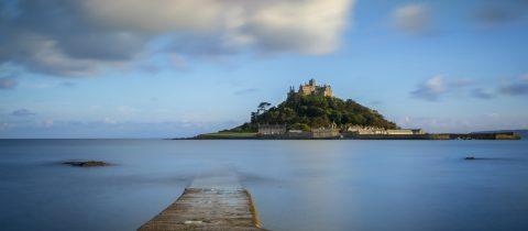Eiland met kasteel