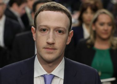 Facebook CEO Mark Zuckerberg moet voor het senaat verschijnen