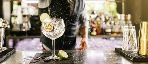 Nep gin tonic
