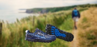 Hiking boots hiken The North Face saucony