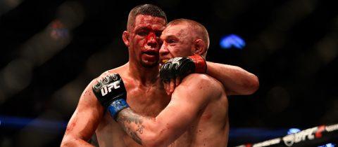 Nate Diaz Conor McGregor beste UFC gevecht ooit