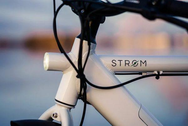 Elektrische stadsfiets van het Deense merk Storm