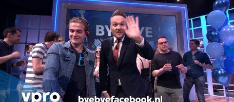 Arjen Lubach, Facebook, #byebyefacebook