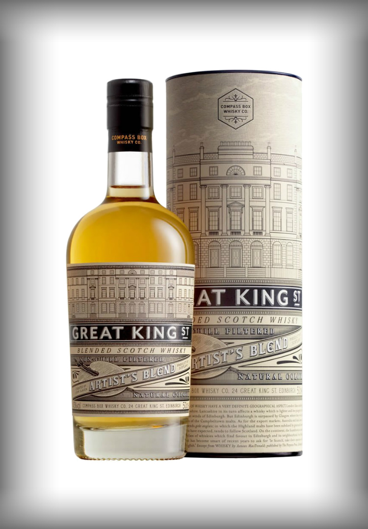 blended whisky single malt whisky