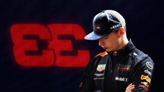 Max Verstappen Renault Formule 1 Boordradio