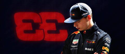 Max Verstappen Renault Formule 1