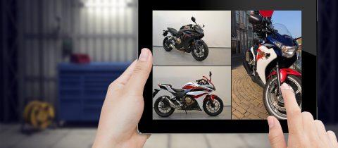 motor occasions Honda CBR motoren