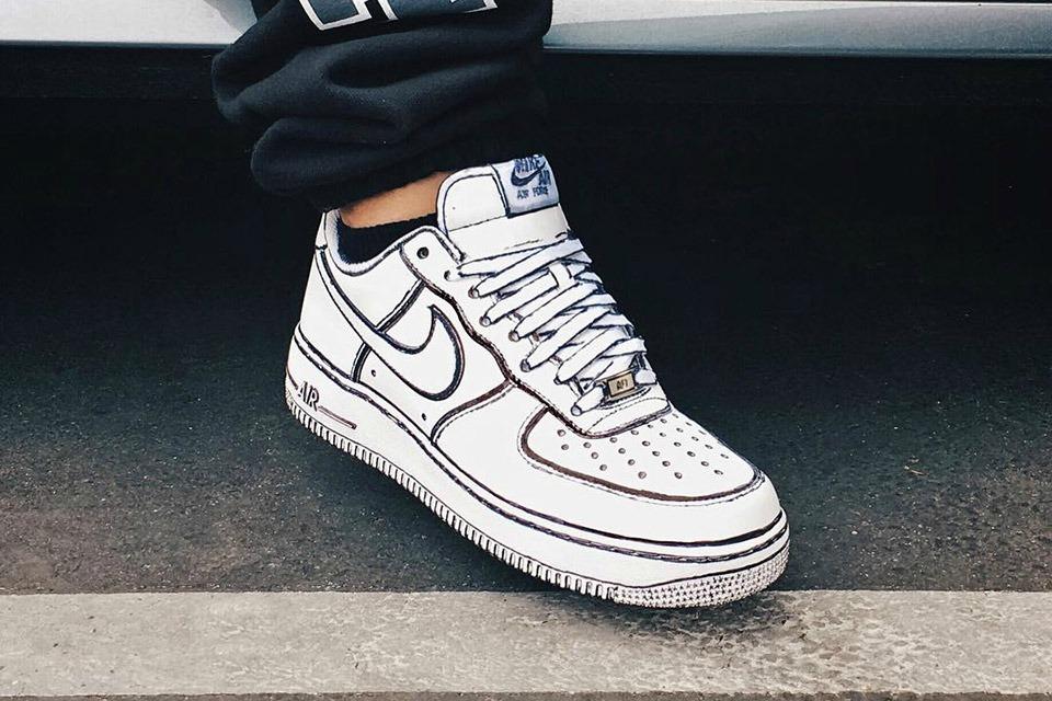 kunstzinnige sneaker sneakers kunstwerk