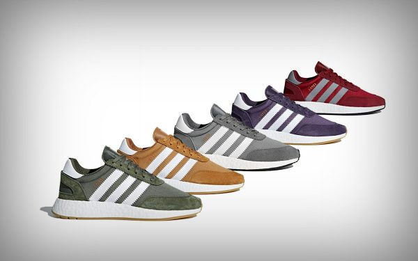 gekleurde adidas schoenen