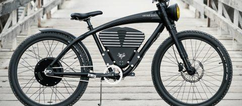 Vintage S scrambler e-bike elektrische fiets