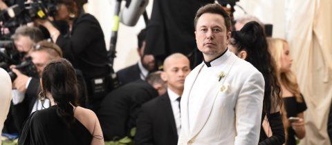 Elon Musk Tesla Elektrische motor