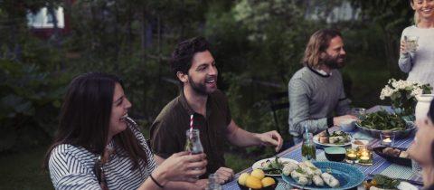 Op sociale momenten toch gezond eten