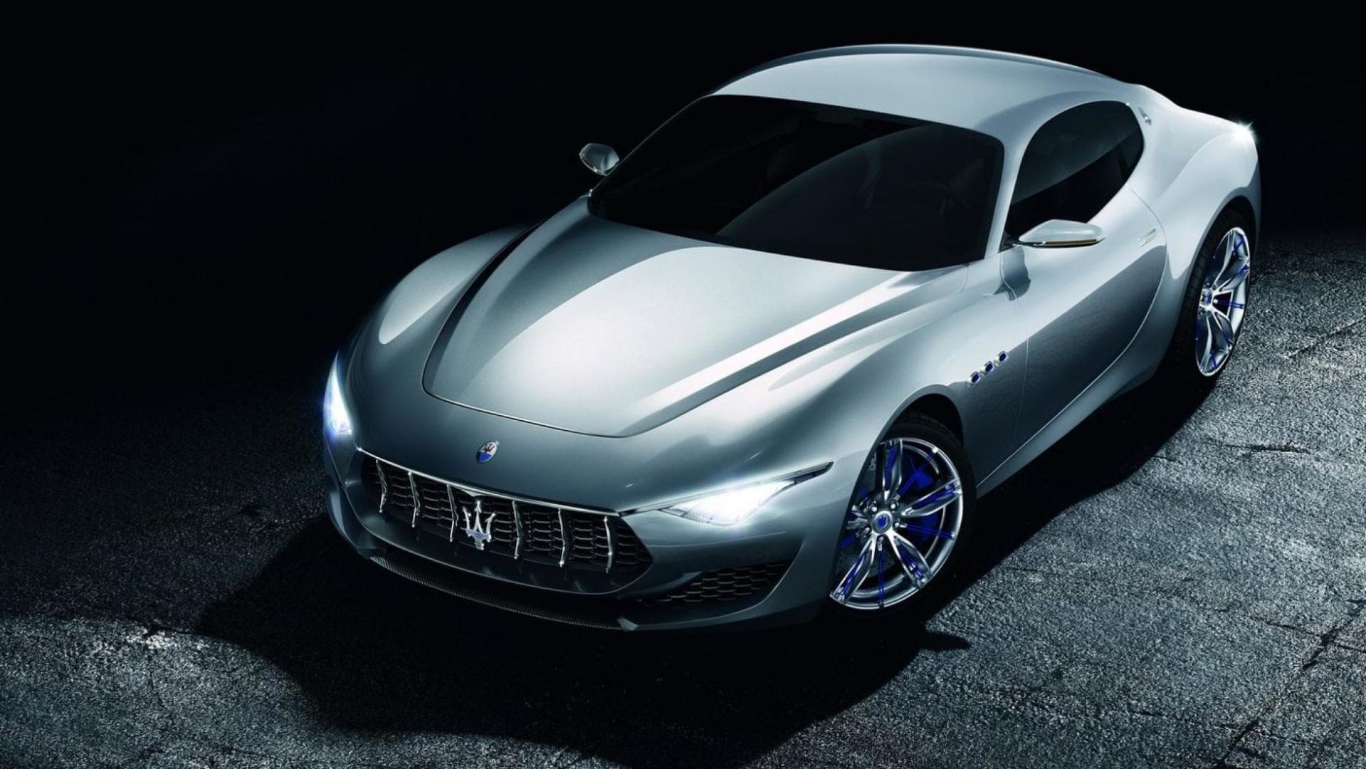 Volledig elektrische Maserati Alfieri
