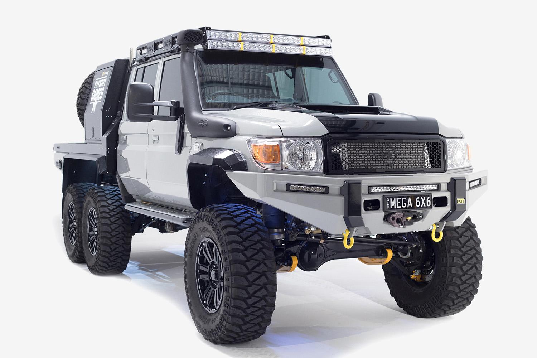 Dit 6x6 All Terrain Monster Is De Dikste Toyota Land