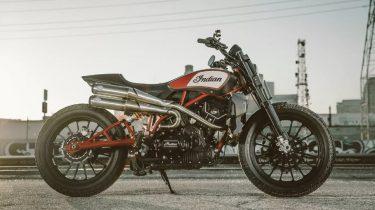 Custom Indian motor